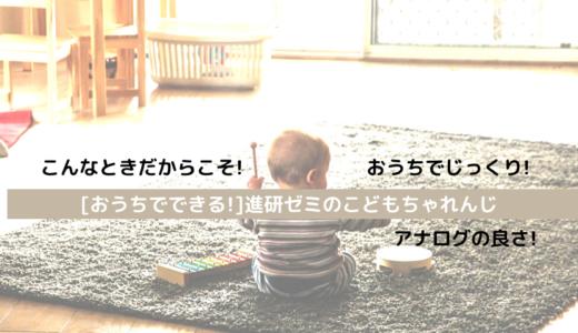 【家でできる勉強!】進研ゼミ[こどもちゃれんじ]がおすすめ!