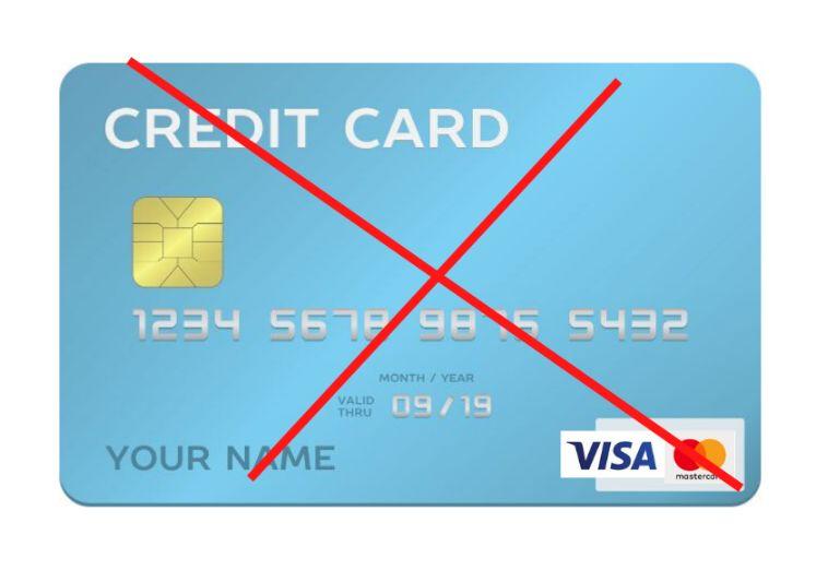 クレジットカードから直接入金できないの画像